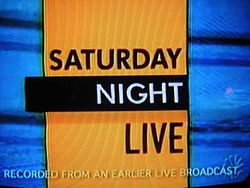 Saturday Night Live Video Open From October 11, 1986
