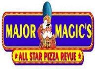 Major Magic's All Star Pizza Revue logo