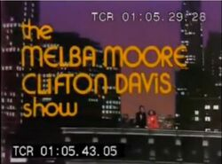 The Melba Moore Clifton Davis Show