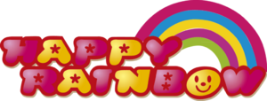 Happy rainbow logo