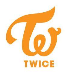 JYP Twice Logo Orange