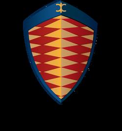 Koenigsegg logotype vertical