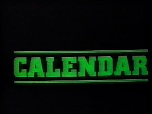 Calendar 1980s