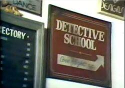 Detective School Intertitle