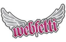 Webfetti logo white