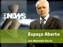 Espaço Aberto Alexandre Garcia 2010