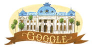 Google 200th Anniversary of Chile's National Library