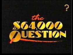 Sixtyfour-thousand-dollar