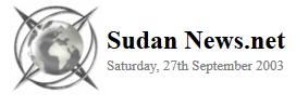 Sudan News.Net 2003