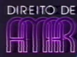Direito de Amar87