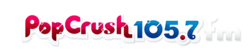 WQSH (Pop Crush 105.7) logo