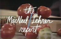 Macneil-lehrer report
