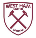 New West Ham United FC logo (white and claret v1)