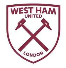 Image - New West Ham United FC logo (white and claret v1 ...