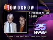 WPBF promo for A Current Affiar February 1992