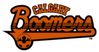 Calgary Boomers logo