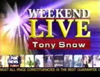 WeekendLiveTonySnow