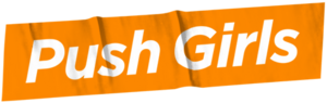 Pushgirls tumblr logo