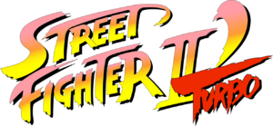 Street Fighter II Turbo logo