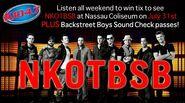 WSPK-FM's K104's NKOTBSB Contest Promo For July 31, 2011