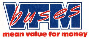 VFM Buses logo 1992