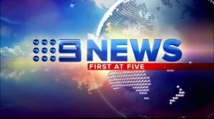 Nine News First At Five 2012