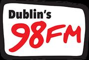 Dublin's 98FM logo since early 2014