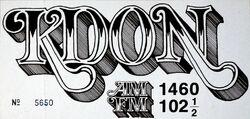 KDON AM 1460 FM 102 1⁄2