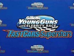 Fast cars and superstars the gillette young guns celebrity race-show