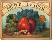 Fruit of the Loom Logo 1893