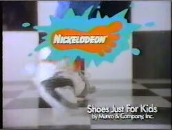 Nickelodeon Shoes 1988