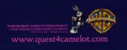 WARNER BROS. FAMILY ENTERTAINMENT FULL COLOUR PRINT LOGO (QUEST FOR CAMELOT)