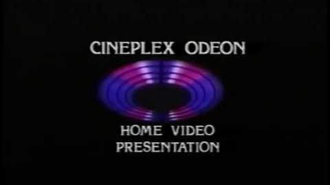 CINEPLEX ODEON HOME VIDEO (1986)
