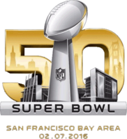 The logo for Super Bowl 50
