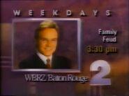 WBRZ 2 Family Feud promo 1989