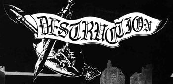 Destruction band logo 01