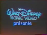 Walt Disney Home Video Presents French Logo