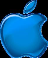 Apple 1998 blue