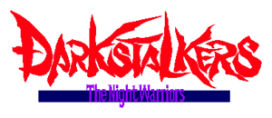 Darkstalkers The Night Warriors Logo
