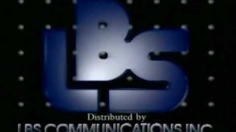 LBS Communications Distribution logo (1989)