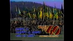 WJSUTV 40 Happy Fourth of July 1988