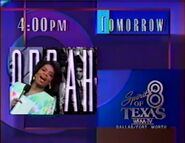 WFAA-TV Oprah Promo October 30, 1990
