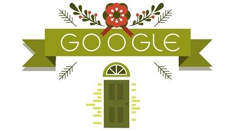 Google Holiday Doodle 2014