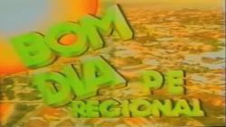 Bom Dia Pernambuco Regional 1992