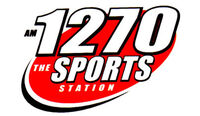 AM 1270 THE SPORTS STATION logo