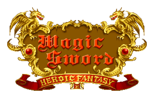 Magic Sword Heroic Fantasy Logo