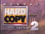 WBRZ 2 Hard Copy Promo 1990