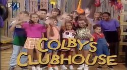 Colby's Clubhouse Logo 1996-2000