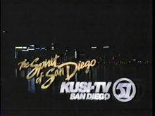 KUSI TV Station ID (1992)