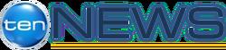 Ten News logo blue